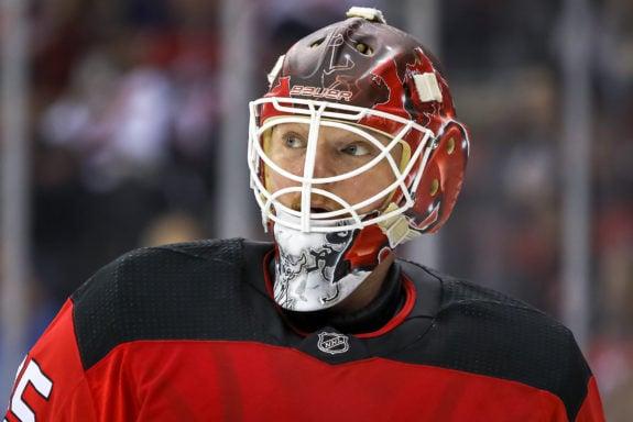 Cory Schneider New Jersey Devils