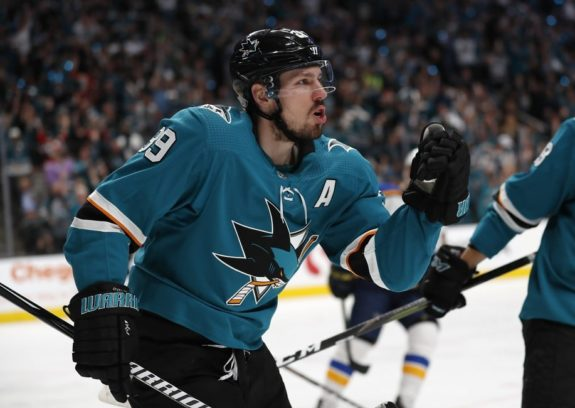 San Jose Sharks' Logan Couture