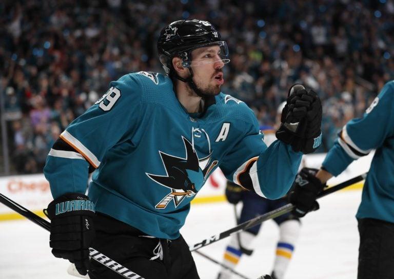 San Jose Sharks' Logan Couture