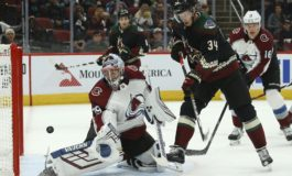 Coyotes Earn Three Points in Up-and-Down Week