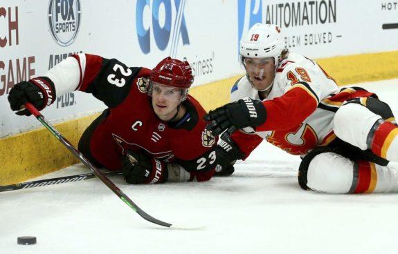 Arizona Coyotes Oliver Ekman-Larsson Calgary Flames Matthew Tkachuk