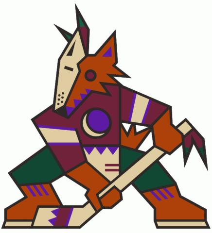 Arizona Coyotes kachina logo