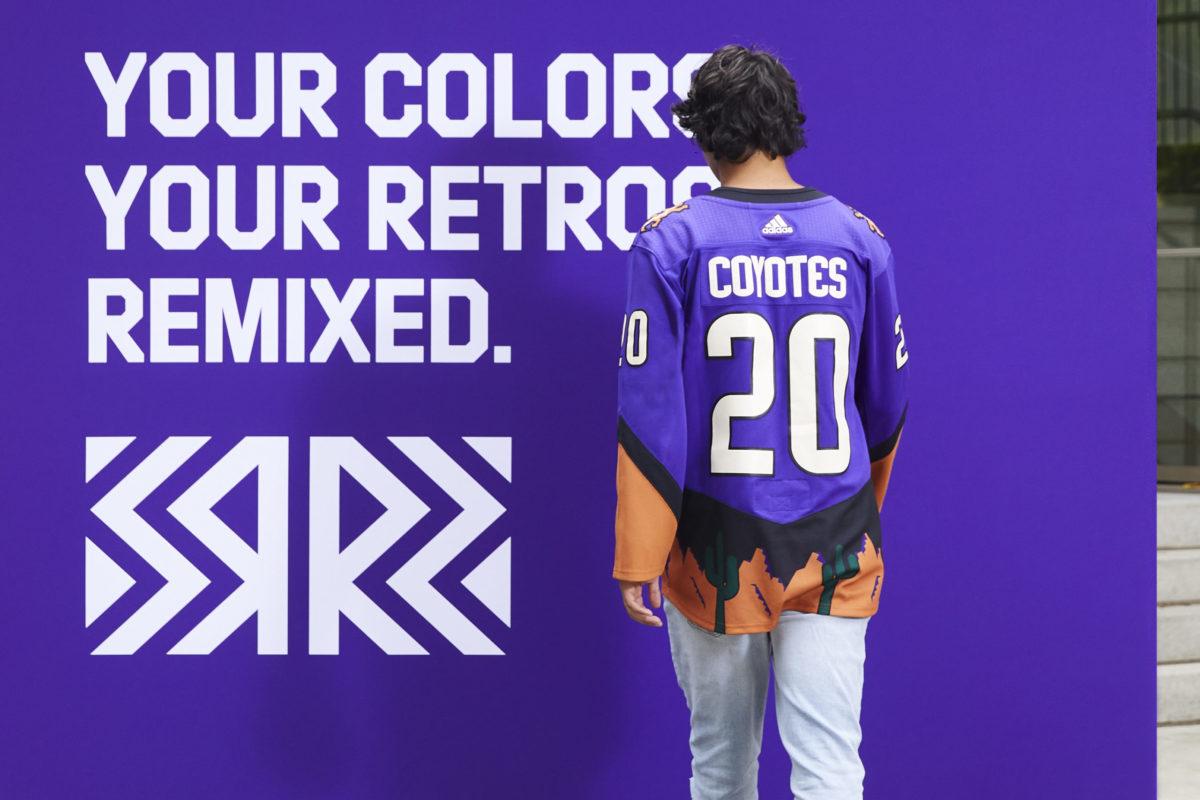 Arizona Coyotes Reverse Retro jersey