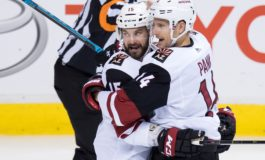 Coyotes Cover Canucks in OT - Panik Gets Winner