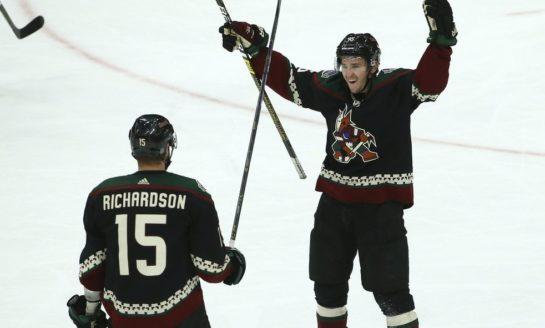 Coyotes Blank Maple Leafs in Matthews' Return