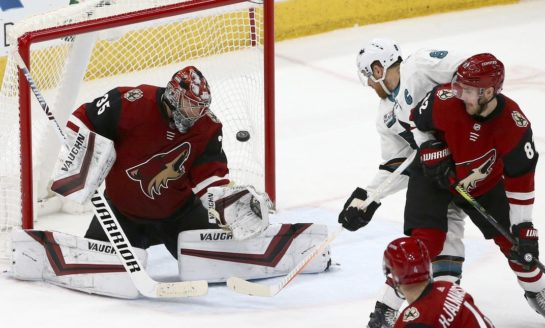 Coyotes Stop Sharks' 7-Game Winning Streak