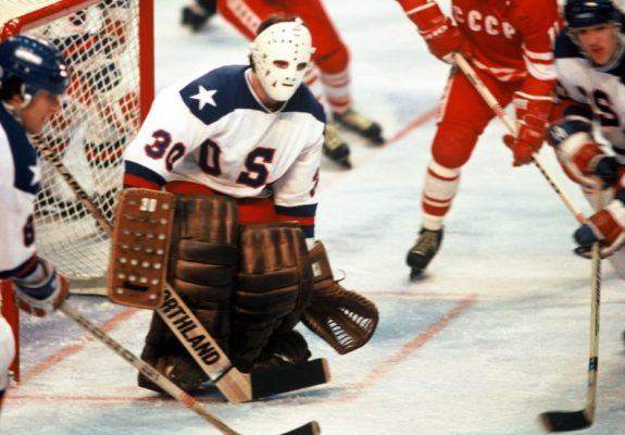 USA Goalie Jim Craig 1980 Olympics