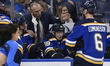 Berube's Blues Playing Good Enough for Playoff Run