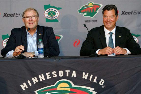 Craig Leipold Minnesota Wild Bill Guerin