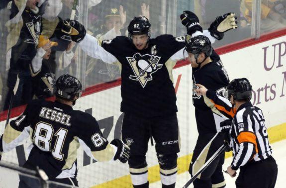 Sidney Crosby, Patric Hornqvist, Phil Kessel
