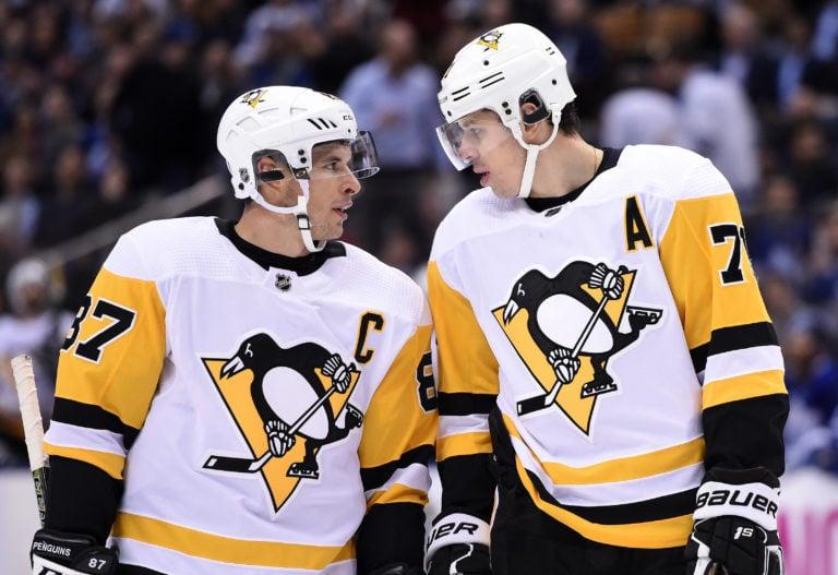Pittsburgh Penguins Sidney Crosby Evgeni Malkin