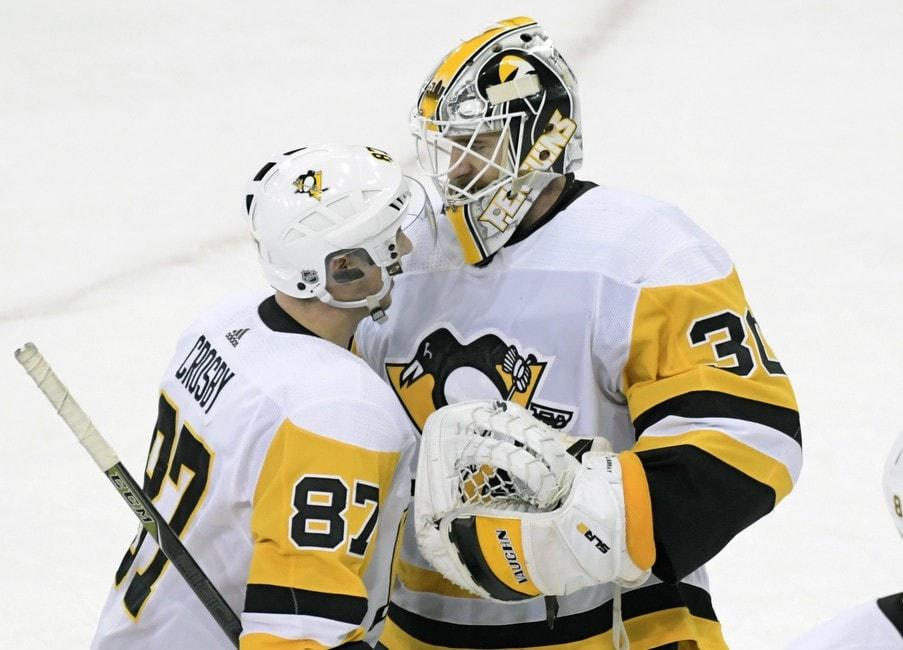 Pittsburgh Penguins Matt Murray Sidney Crosby