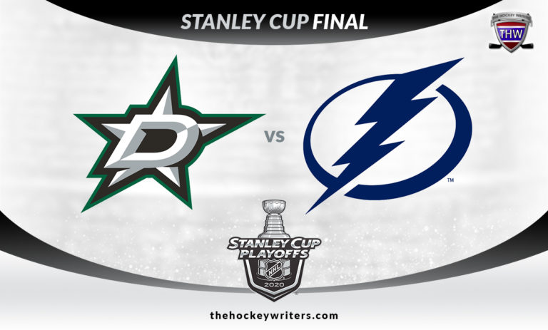 NHL 2020 Stanley Cup Final Dallas Stars Tampa Bay Lightning