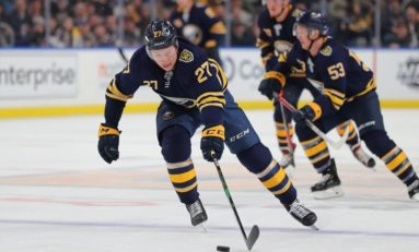 Sabres' Lazar Seeing Surprising Success
