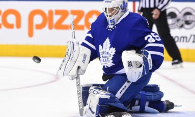 McElhinney Fighting for Job as Leafs Backup