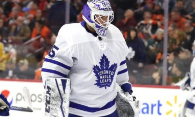 Leafs' McElhinney Has Found a Home