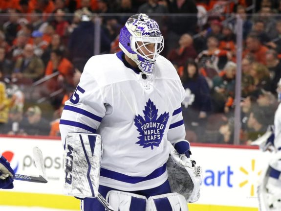 Curtis McElhinney Leafs