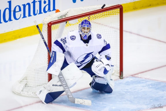 Curtis McElhinney Tampa Bay Lightning