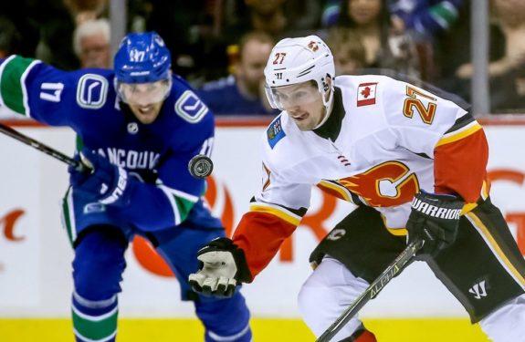 Calgary Flames' Austin Czarnik