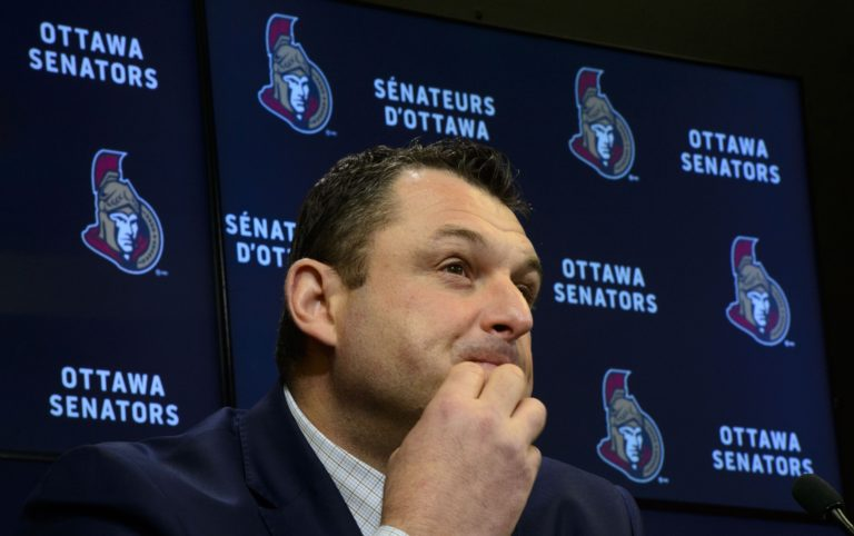 D.J. Smith, Ottawa Senators head coach