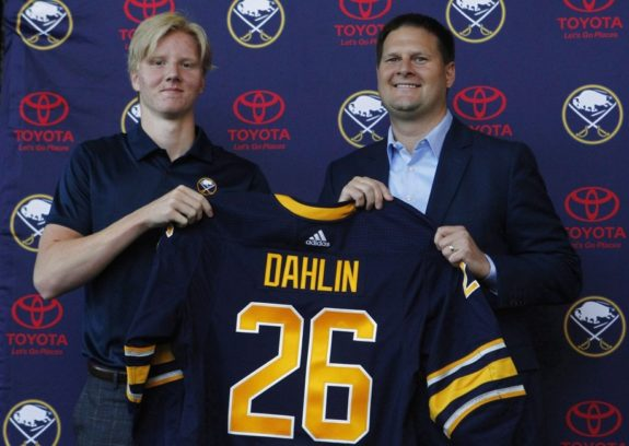 Buffalo Sabres Rasmus Dahlin Jason Botterill