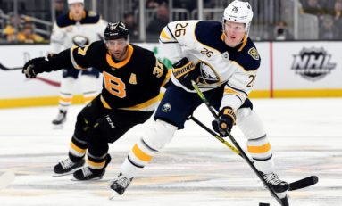 Dahlin Breaks Tie, Ullmark Helps Sabres Beat Stars 4-1
