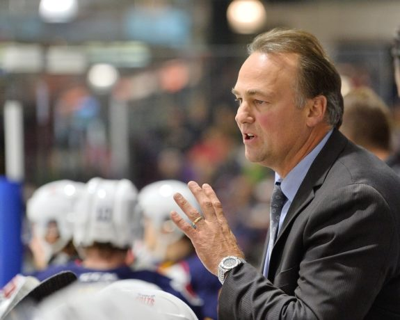 Dale Hawerchuk of the Barrie Colts