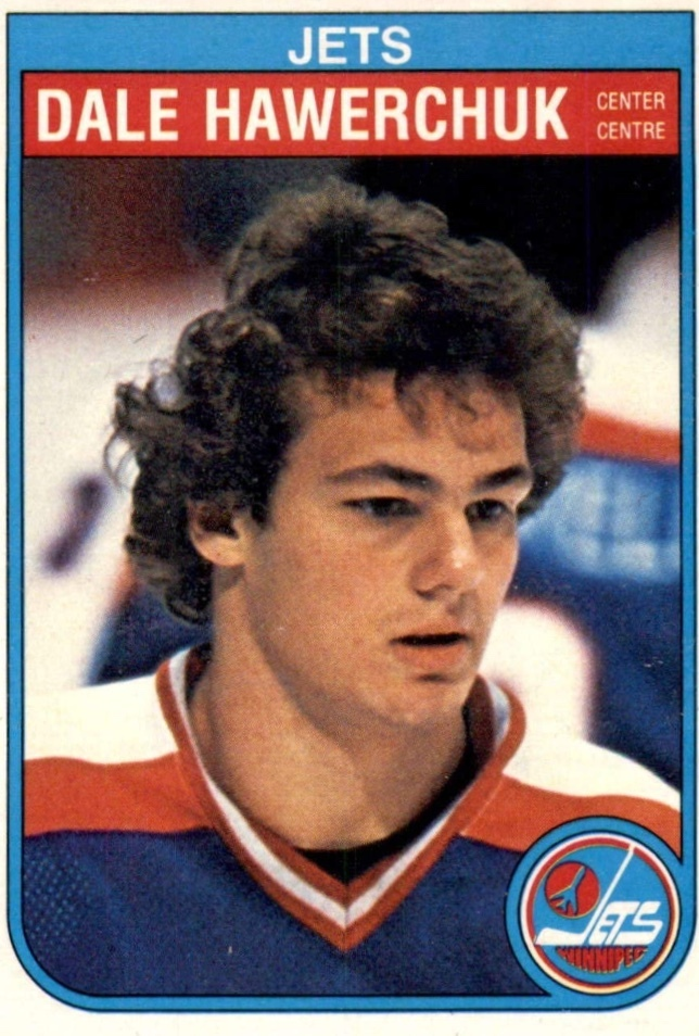 Dale Hawerchuk Winnipeg Jets hockey card