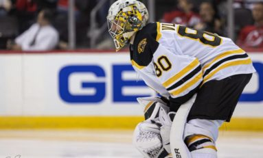 Bruins' Vladar Unexpected Next Man Up in Backup Goalie Role