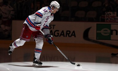 Paille Is Fitting in Well with the Rangers