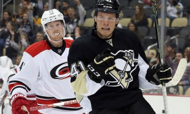Points of Emphasis: Sprong Scores First NHL Goal; Pens Win