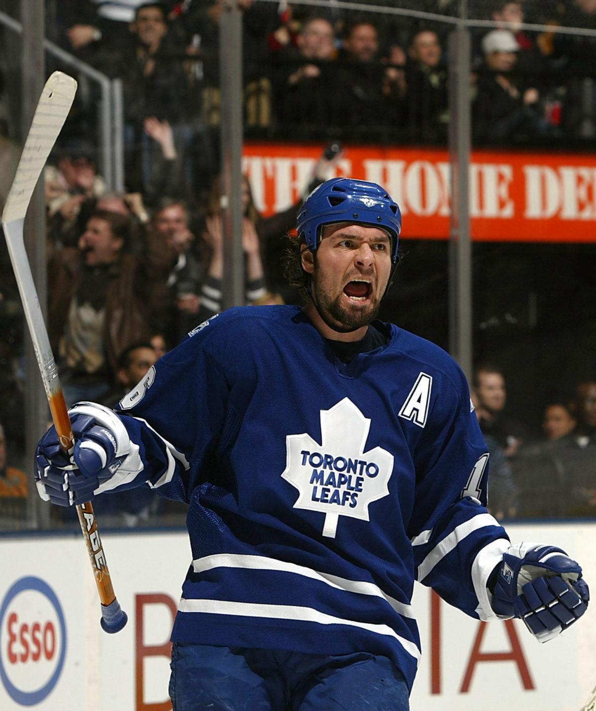 Darcy Tucker Toronto Maple Leafs