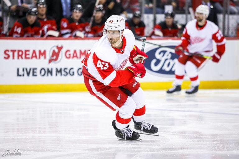 Darren Helm Detroit Red Wings