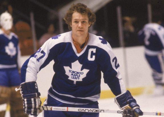 Darryl Sittler Toronto Maple Leafs