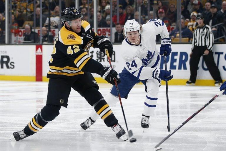 Boston Bruins' David Backes