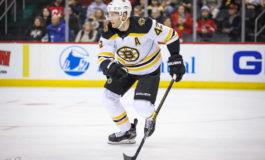 Bruins Waive Backes, Send Him to Minors