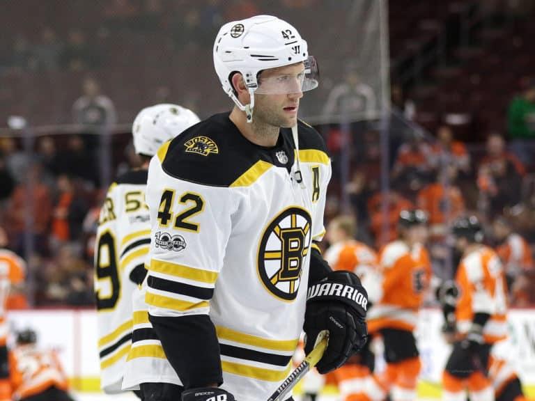 David Backes Bruins