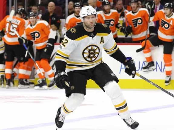 David Backes Bruins