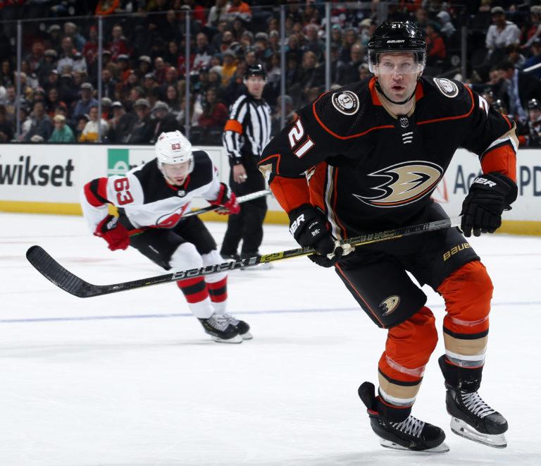 David Backes Anaheim Ducks