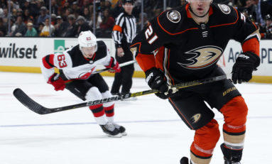 Ducks' Commitment to Backes Leaves No Room for Sherwood
