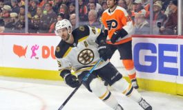 Krejci Has Goal, Assist for Bruins in 3-2 Win Over Golden Knights