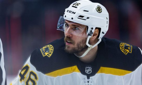 Krejci Returning to Playoff Form for Bruins
