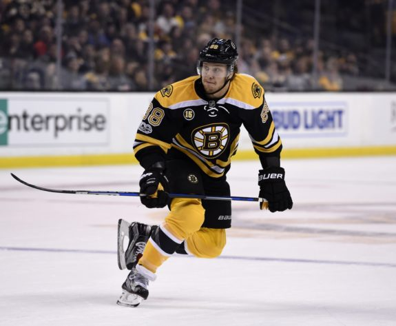 David Pastnrkak, Boston Bruins
