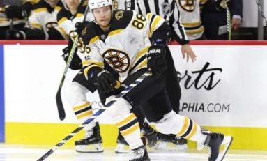 NHL News & Notes: Pastrnak, Mazanec & More