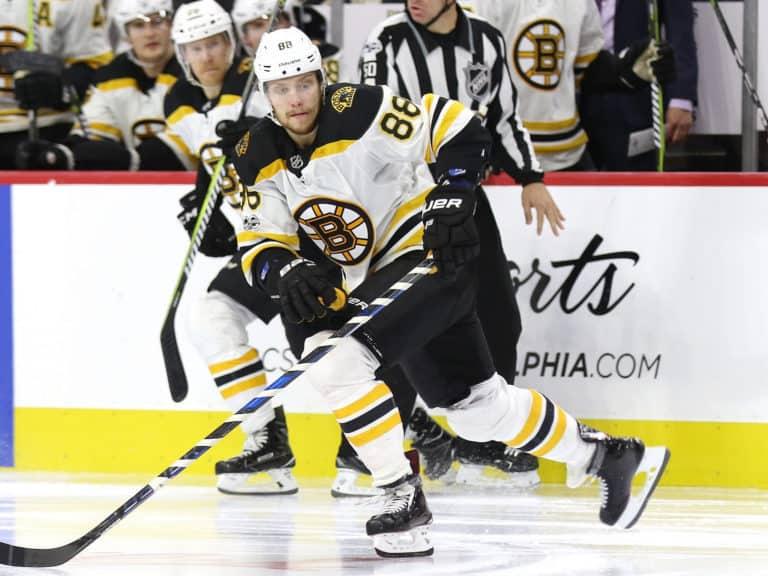 David Pastrnak Bruins