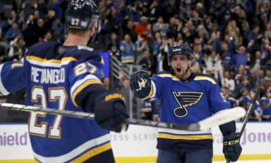 Adversity Doesn't Keep Blues from Winning