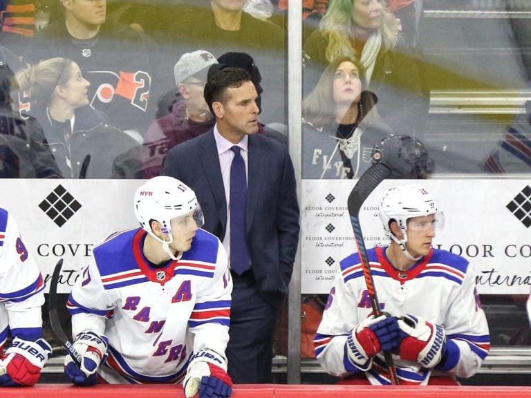 David Quinn New York Rangers