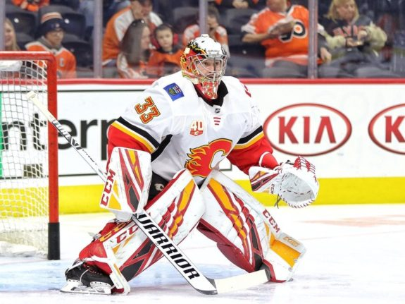David Rittich Calgary Flames goalie playoffs starter Cam Talbot