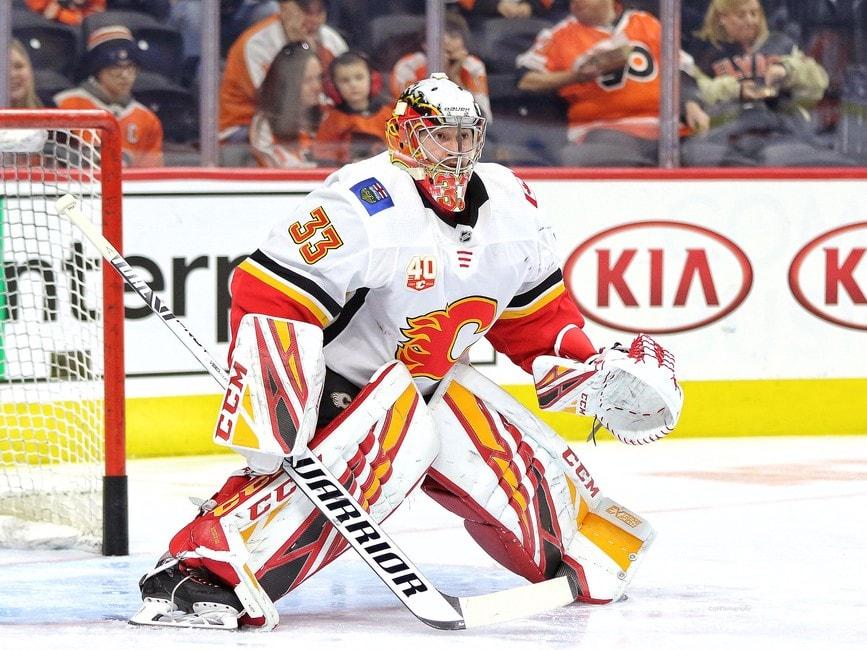 David Rittich Calgary Flames