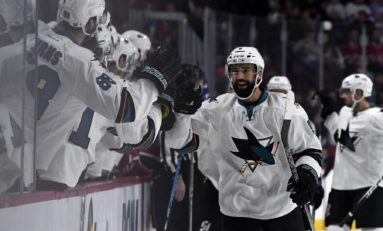 Preview: Surging Sharks Host Sliding Avalanche